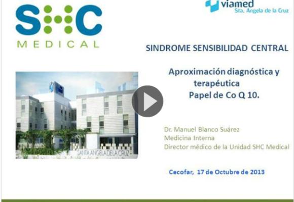 Síndrome de Sensibilidad Central y Coenzima Q10