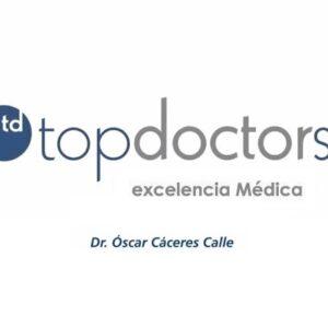 El Dr. Cáceres en Top Doctors
