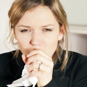 La tos en pacientes con alergia primaveral, comienzo de la enfermedad asmática
