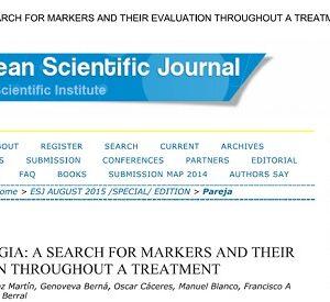 Nueva publicación científica sobre Fibromialgia