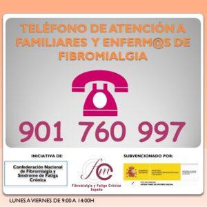 Servicio de atención telefónica a pacientes con Fibromialgia
