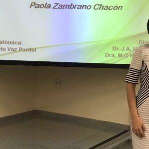 Nuestra Directora de la Unidad de Investigación presenta su tesis doctoral