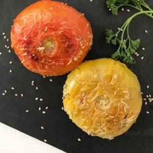 tomates al horno con especias