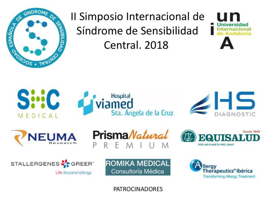 Esta semana arranca el II Simposio Internacional de Síndrome de Sensibilidad Central